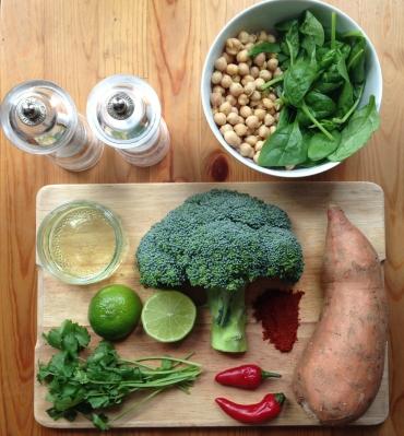 Sweet pot n broc (ingredients)
