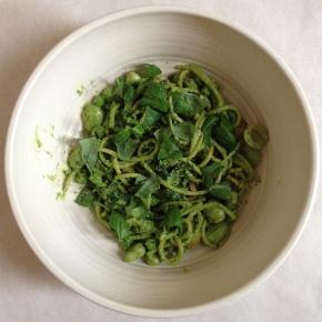 Spinach & walnutpesto