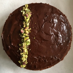 A chocolate cake & some thoughts onveganism